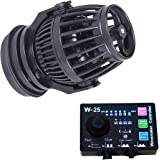 Uniclife 2100 GPH Controllable Wavemaker with W-25 Controller and Magnet Mount for Marine Freshwater Aquarium Circulation Pond