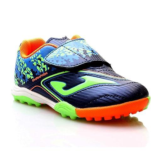 fa84e50fb4b Zapatillas FÚTBOL Joma Champion JR 723 Marino-Royal Turf - Color - Marino,  Talla - 27: Amazon.es: Zapatos y complementos