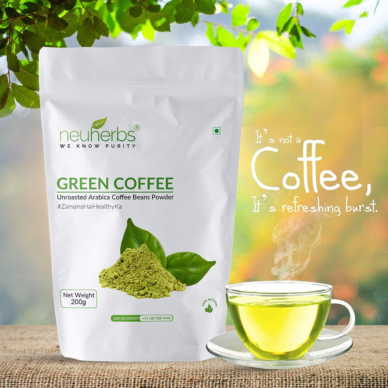 100 Organic No Side Effects Pure Neuherbs Green Coffee Beans
