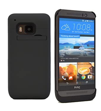online store eac6e ac6a1 HTC One M9 Battery Case, Phone Charger Case ?? 3200 mAH External ...