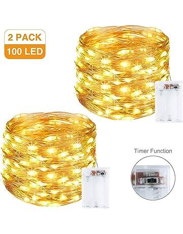 Amazon.es: Interior - Guirnaldas luminosas: Iluminación