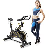 CIRCUIT FITNESS Circuit Fitness 40 lbs. Flywheel Deluxe Club Revolution Cardio Cycle Manual Resistance AMZ-955BK