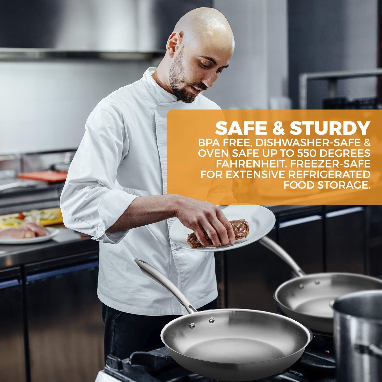 Chefs Star Juego de ollas y sartenes - juego de utensilios de cocina ...