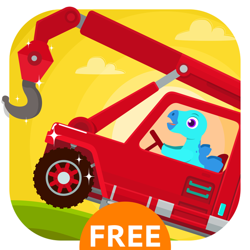 - Dinosaur Rescue - Truck Driving Simulator Games for Kids Free
