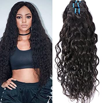 Amazon Com Brazilian Curly Hair Wet And Wavy Human Hair 7a