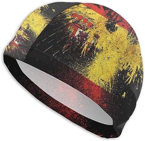 Uosliks Gorra de natación con Bandera de España y águila Sombrero ...