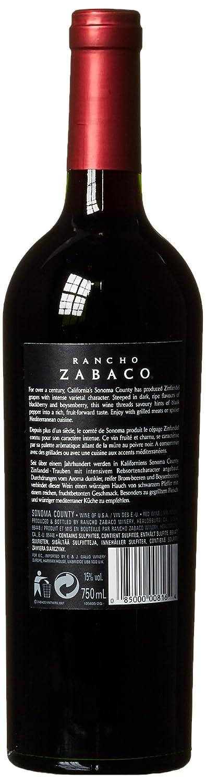 Rancho Zabaco Sonoma Heritage Vines Zinfandel 2014trocken (1 x 0.75 ...