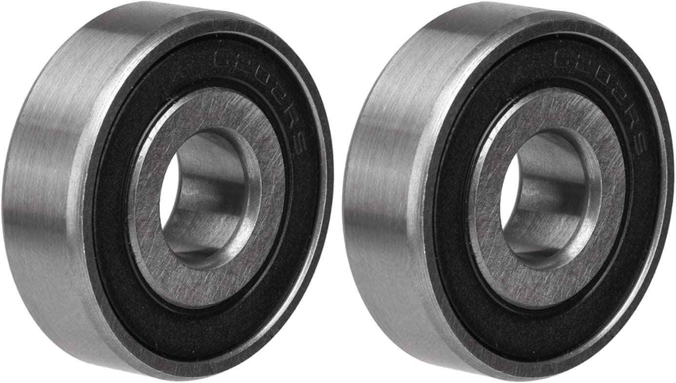 6202-2RS-13 13x35x11 13mm Bore 35mm OD 11mm wide 6202RS-13 Radial Ball Bearings