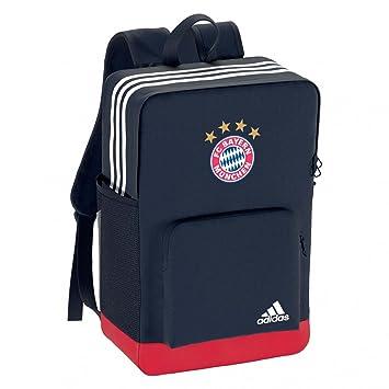 adidas FC Bayern München Rucksack Backpack 17 18 collegiate navy fcb true  red One ebbc5cbc0317f