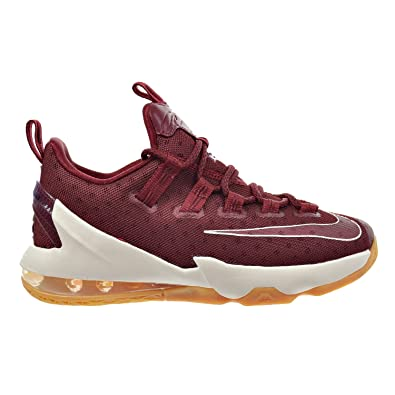 NIKE Lebron XIII Low (GS) Youth Sneakers (4.5Y, Team Red/
