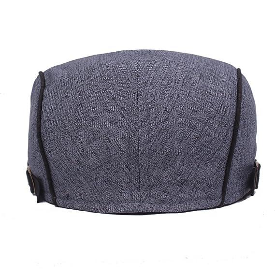 Impression 1 PCS Boinas Moda Casual Hat Gorra de Golf Sombrero de Sol  Deporte al Aire Libre Primavera Verano para Unisex Hombre Mujer (A)   Amazon.es  Ropa y ... 029c09f4bc3