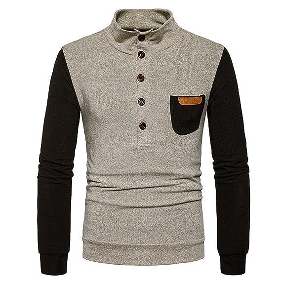 Suéter de Invierno de otoño para Hombre Jersey Suelta Jersey ...