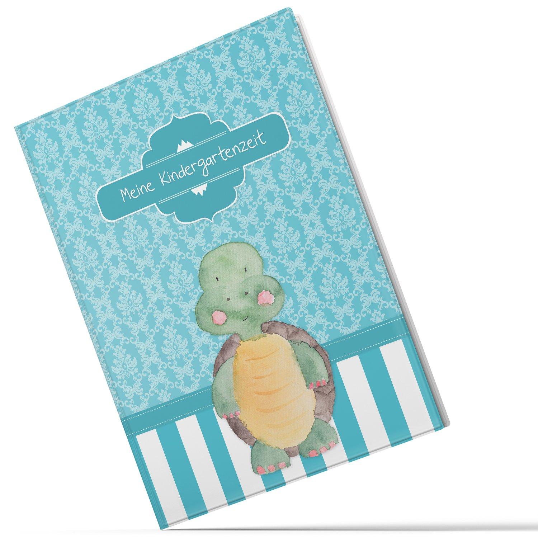 –Carpeta (Tiempo de mis Guardería niedliche Tortuga regalo Idea Cumpleaños infantiles (10/20fundas A4) Talla:10 Hüllen (A4) Olgs Babyartikel