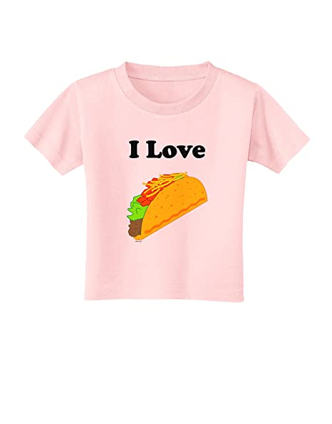 Amazon com: I love Tacos Toddler T-Shirt: Clothing
