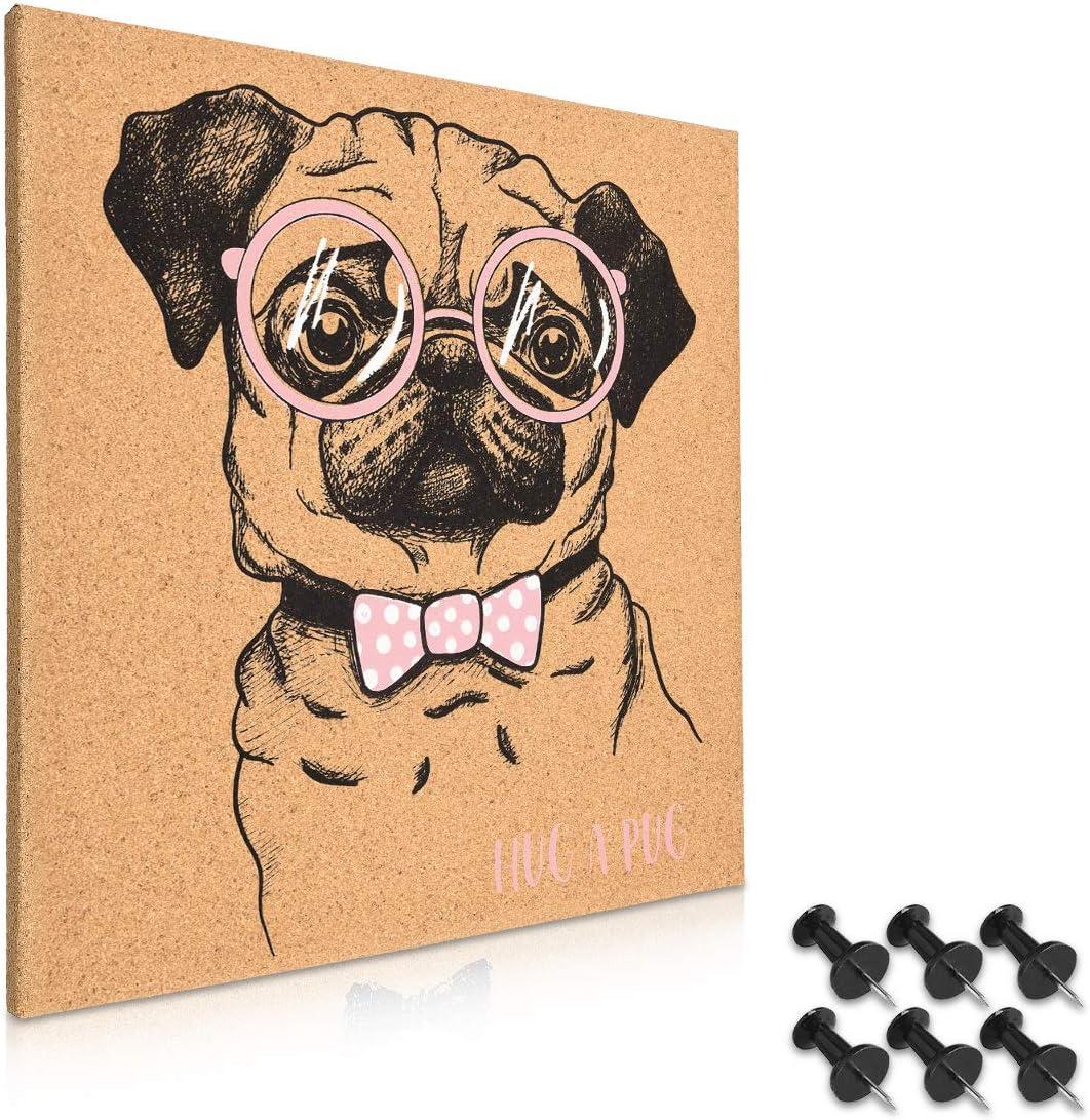 Tablero con diseño de perro