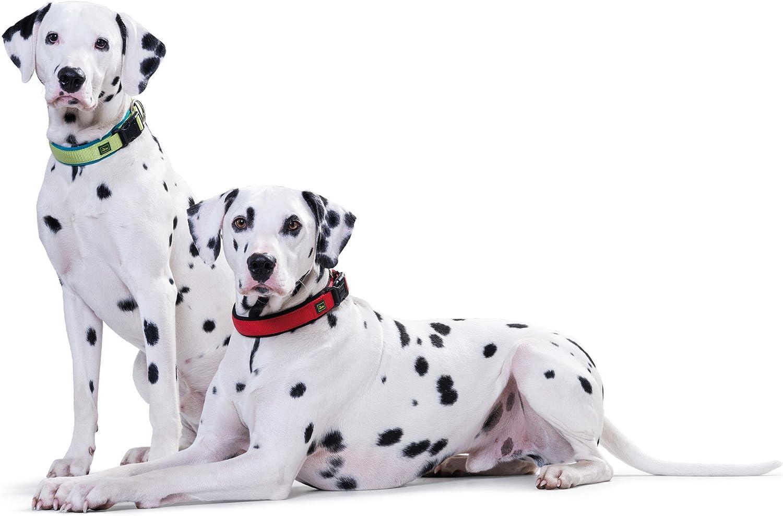 HUNTER NEOPREN VARIO PLUS Hundehalsung aus Nylon mit weichem Neopren gepolstert fellschonend