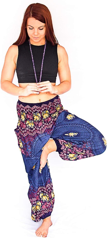 Open Leg Pants Bohemian Clothes  Hippie Clothes  Boho Stays  Yoga Clothes  Music Festival Pants  Thai Pants