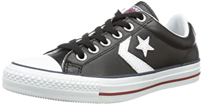 d70360e5b7f5 Converse Womens Star Player Evolution Black Leather Trainers 5 US