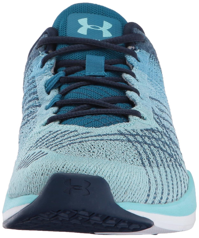 Chaussures de sport Under Under Armour Threadborne Push Chaussures de sport naturelles, MIDNIGHT NAVY/BAYOU BLUE/BLUE INFINITY, 41 EU
