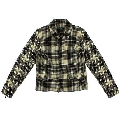 Amazon.com: Lauren Ralph Lauren - Chaqueta de lana para ...