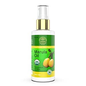 Marula Oil Gold Organic Natural- 100% Pure, face, Hair, Body, Hands, Virgin, Non GMO, Cold Pressed, Unrefined, Moisturizing & Balancing Maracula Botanicals