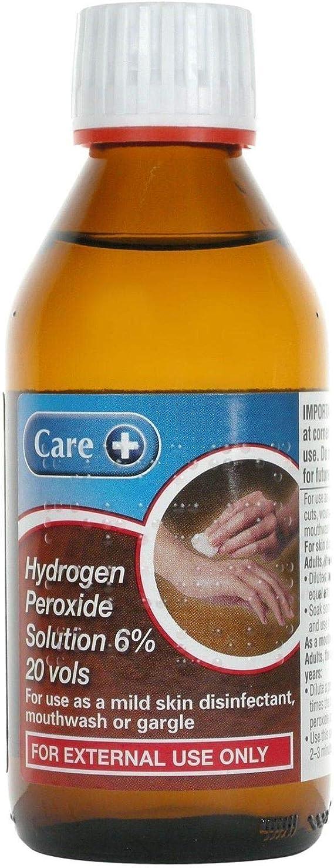 peroxid de hidrogen extern de la varicoză)