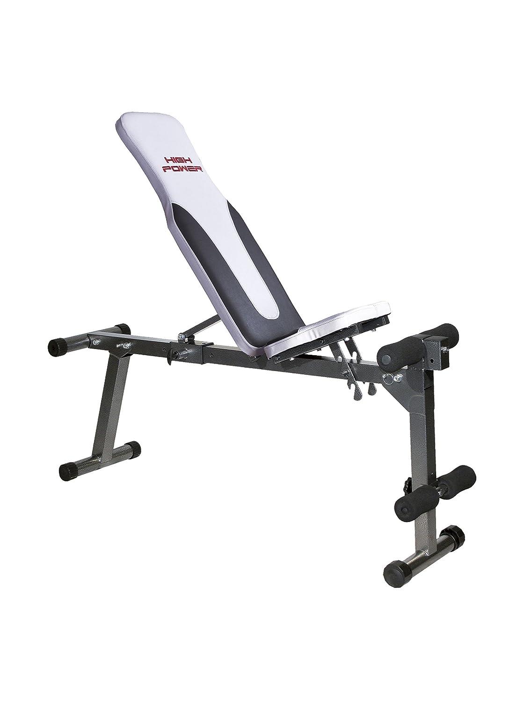 HIGH POWER Panca Fitness HPAD330 Nero//Bianco