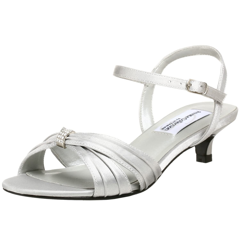 Dyeables Women's Fiesta Sandal B001601C5A 7 2A|Silver/Metallic