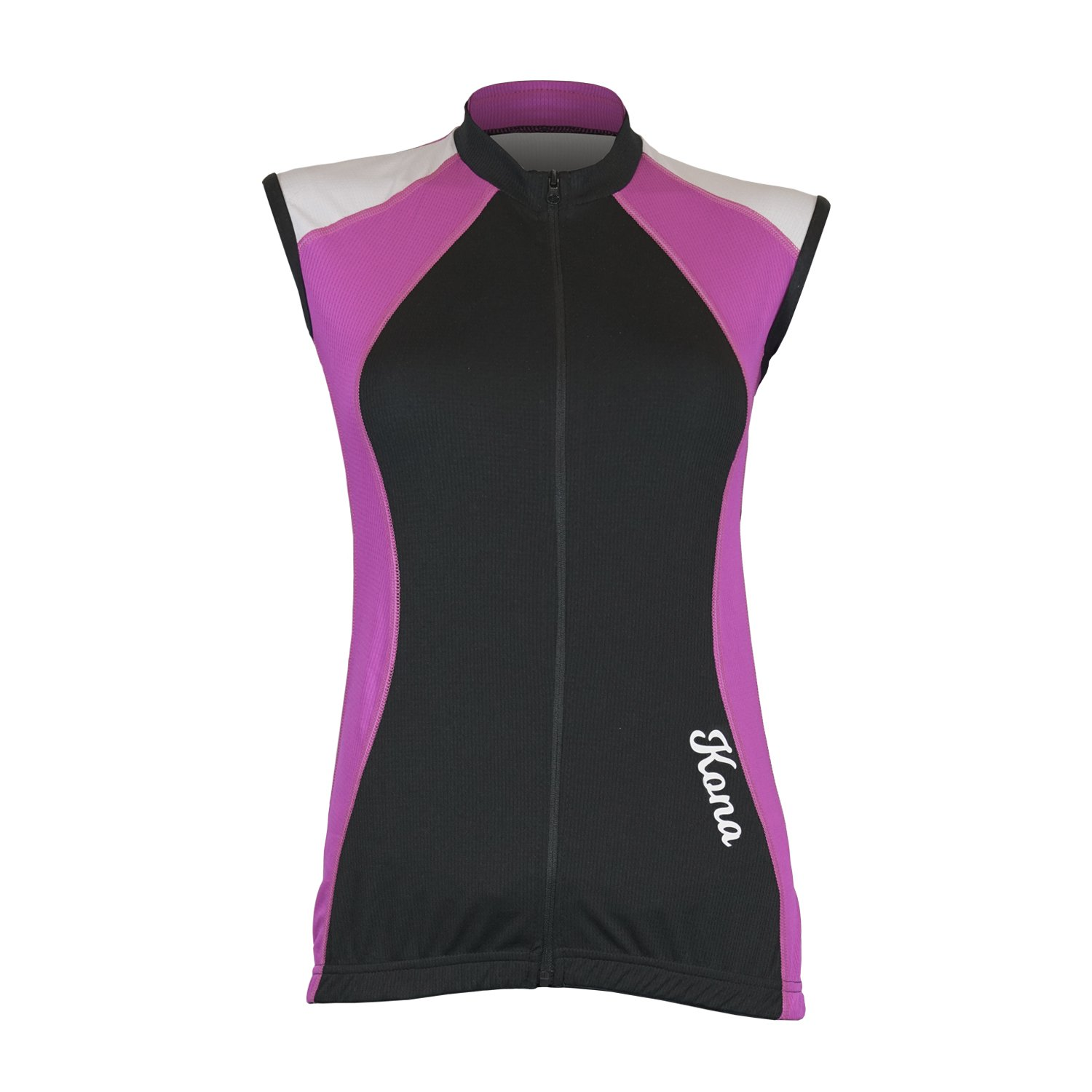 Women's KONA Triathlon Vest Jersey and Shorts - Sleeveless Tri Singlet, 2 Rear Pockets for Storage