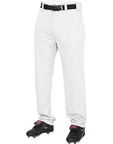 Augusta Sportswear Mens Series Knee Length Baseball Pant White 1452A S