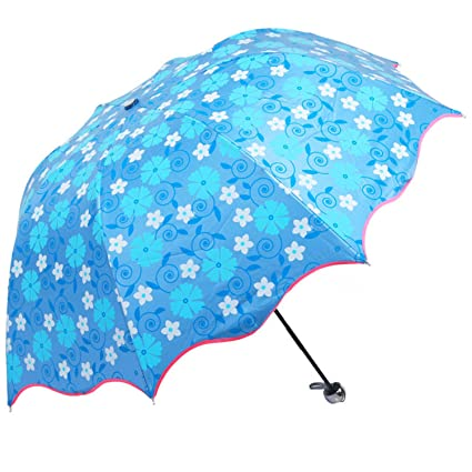 Reinhar Purple Rain Folding Umbrellas Women With UV Protection Regenschirm Paraguas Plegable Beach Sun Waterproof Umbrella