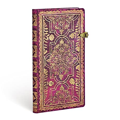 Agenda Paperblanks - Amarante - Slim - 90 × 180 mm - 1 ...