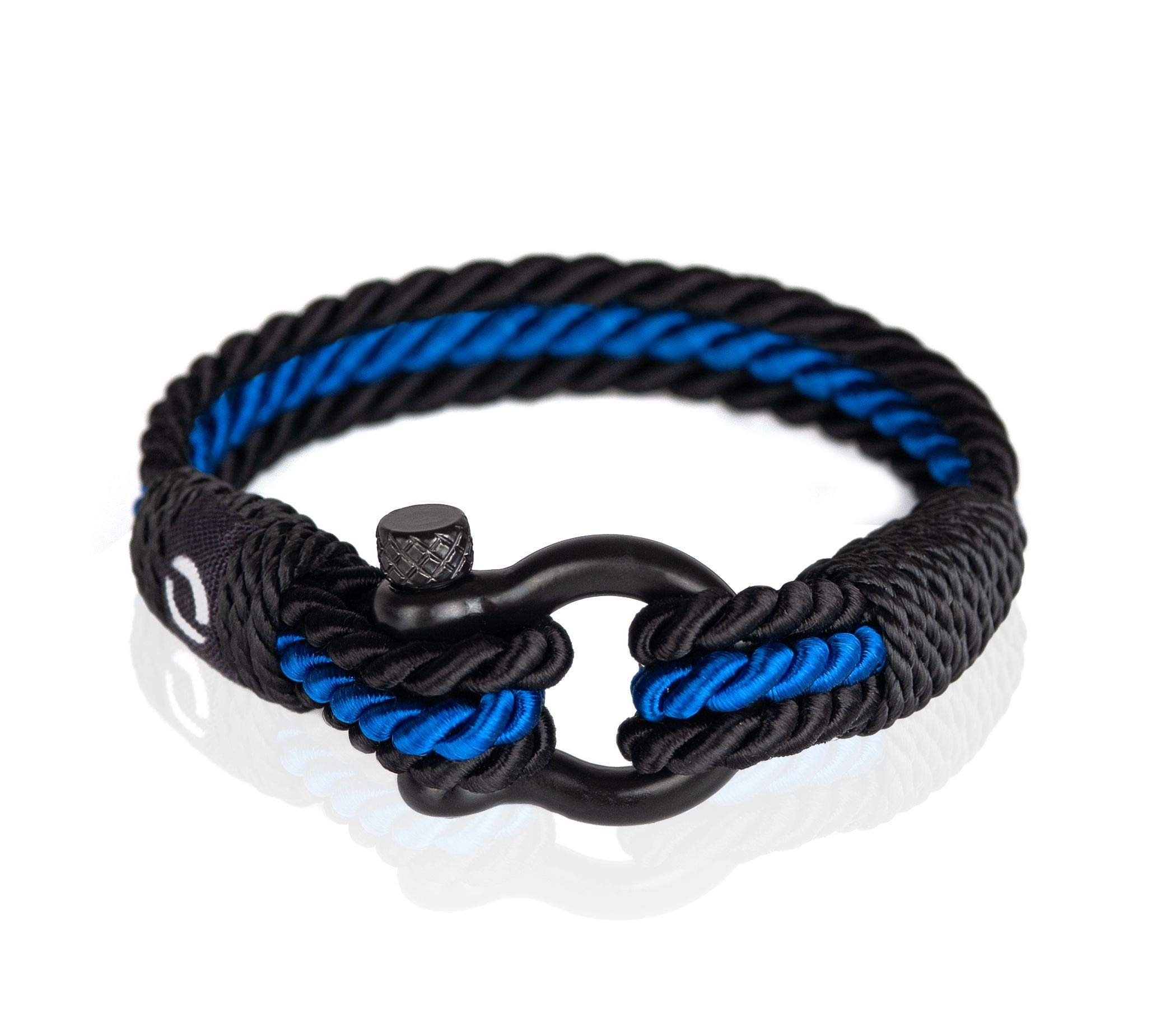 Wrap Bracelet for Women | Gift for Her | Bead Accessory | Surfer Style Accessories |Blue Color B-4-9 by Mover Bracelets