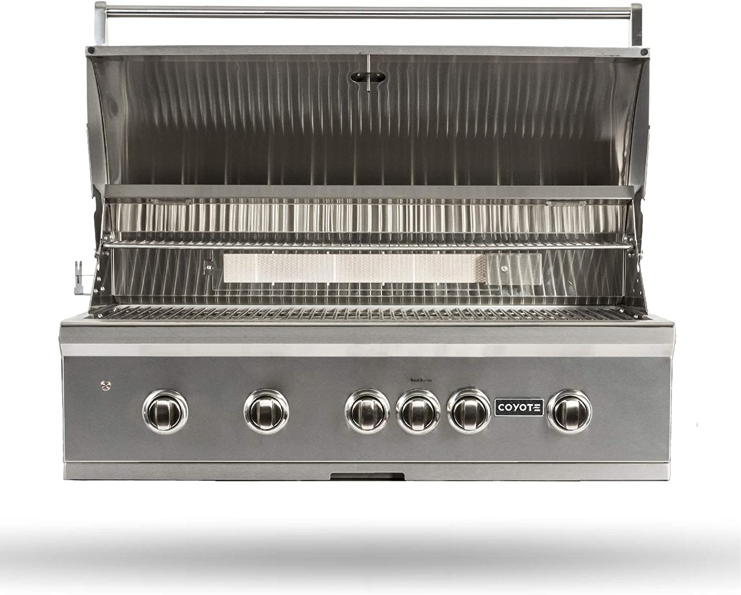 300+ Coyote S Series Propane Gas Grill, 112 in. 112 Burner Built in Grill with  RapidSear Infrared Burner & Rotisserie   C12SL112LP