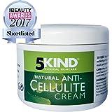 5KIND Professionnel Crème Amincissante Et Anti-Cellulite Thermo-Active. Soin Raffermissant, Sculptant, Anti-Capitons Jambes, Ventre, Cuisses, Fesses Et Bras