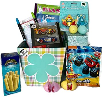 Amazon easter gift baskets for boys disney cars lightning easter gift baskets for boys disney cars lightning mcqueen toys pass egg decoration kit negle Choice Image