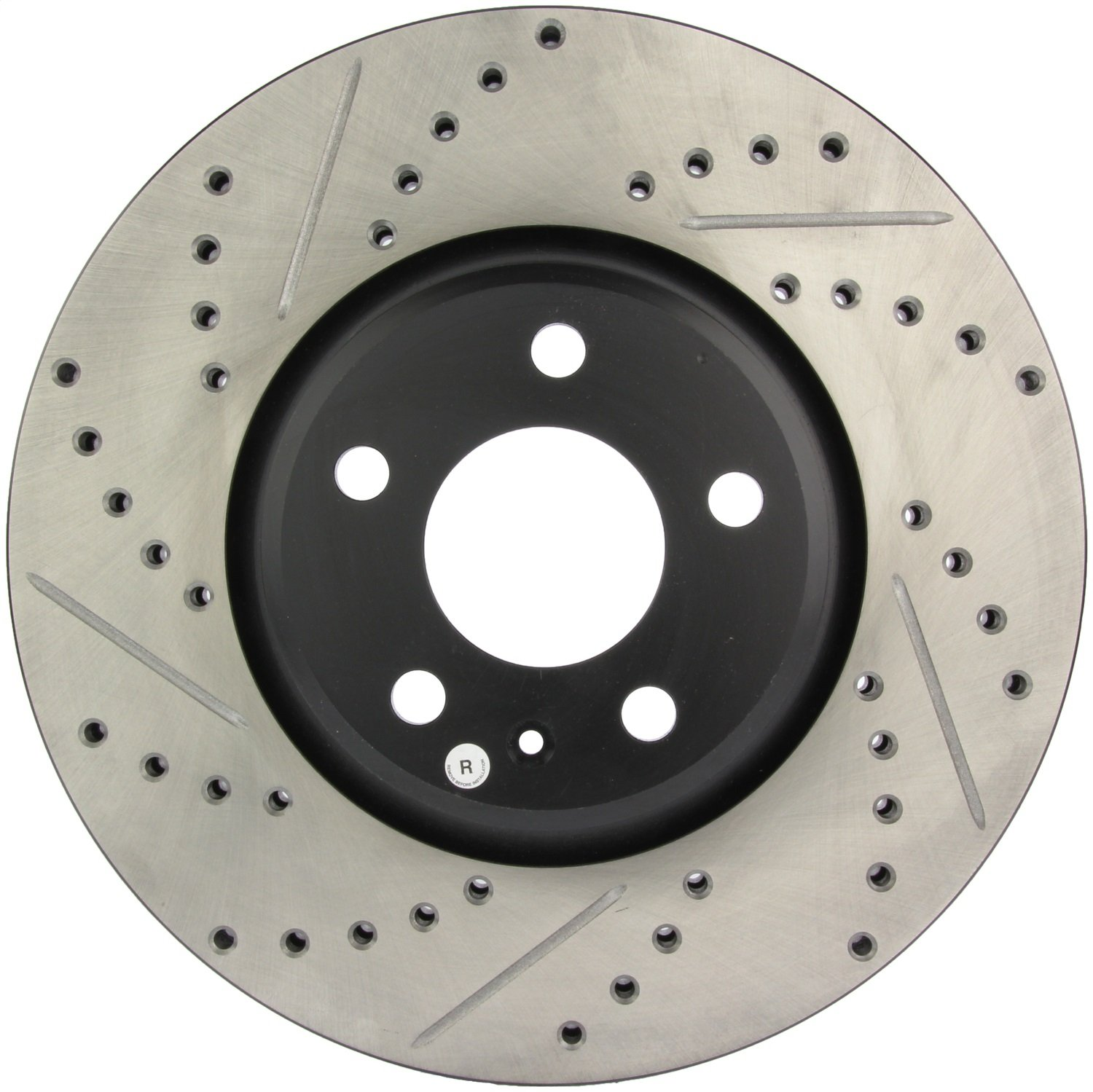 1 Pack Front Right StopTech 127.33136R Sport Drilled//Slotted Brake Rotor