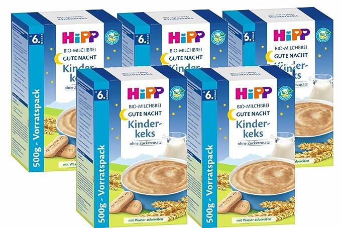 Hipp Kinderkeks buenas noches avena - a partir de 6 meses, 500 g, 5