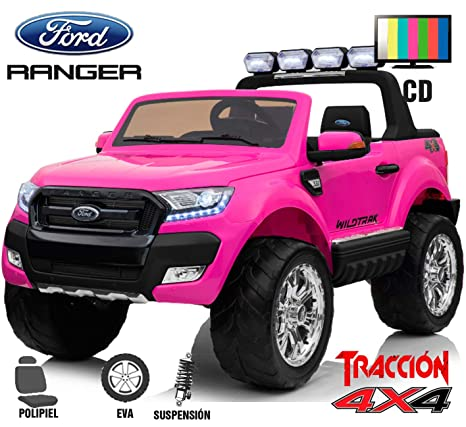 BC Babycoches-Coche electrico 12 V para niños Ford Ranger WILDTRACK 4X4, biplaza,