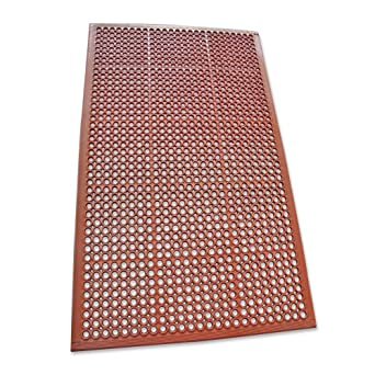 rubber kitchen flooring. Rubber-Cal 03_122_WRE 1/2-inch Dura Chef Non-Slip Rubber Kitchen Flooring