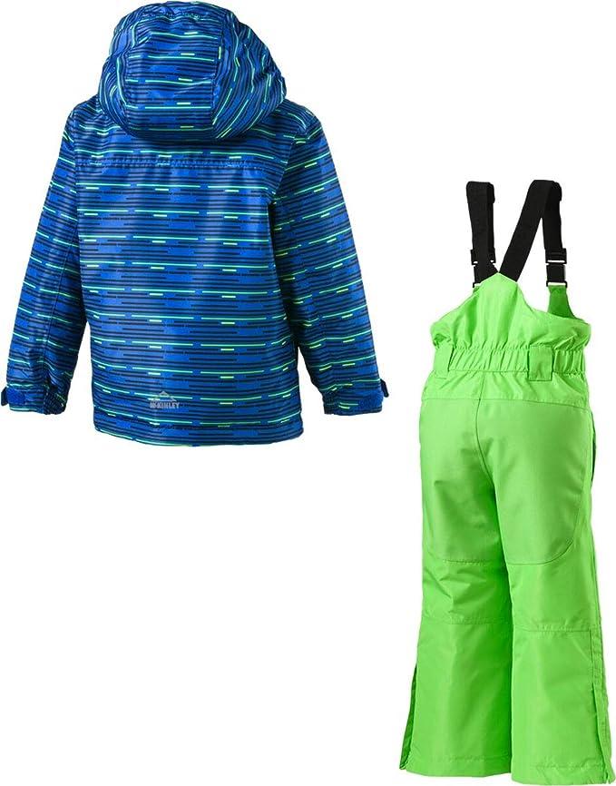 Kinder Ski Overall Royal Blau Größe 122 wasserdicht atmungsaktiv Schneeanzug
