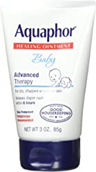 Aquaphor Baby Advanced Therapy Healing Ointment Skin Protectant 3 Ounce Tube (Pack of 3) - Pediatrician Recommended Brand