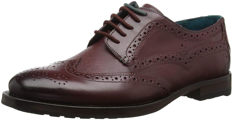TALLA 42 EU. Ted Baker Senape, Zapatos de Cordones Derby para Hombre