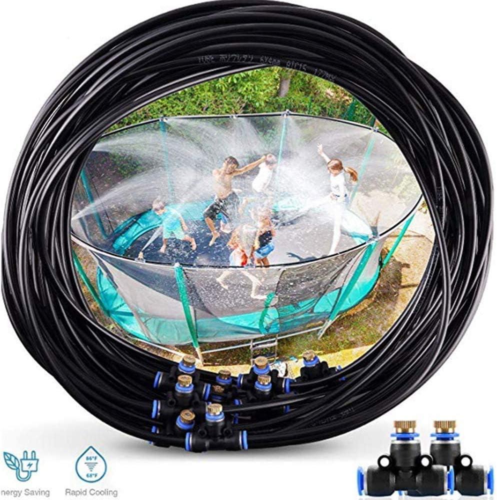 Knoijijuo Enfriamiento por Pulverización Señor Agua Terraza, Irrigación Wassernebler para Los Jardines De Efecto Invernadero, Piscina Arbor M Ventilador 10