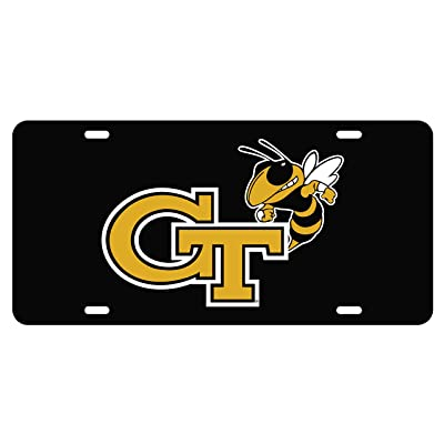 Craftique Georgia Tech Tag (BLK REF GT Yellow Jacket TAG (18013)) : Sports & Outdoors