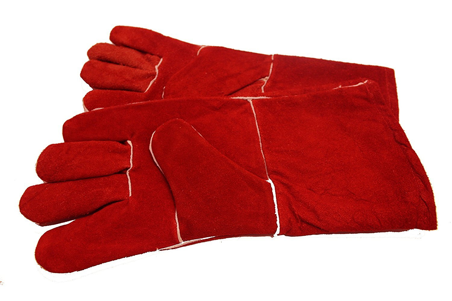 DSYJ Gloves High Temperature Stove Long Lined Welders Gauntlets Generic