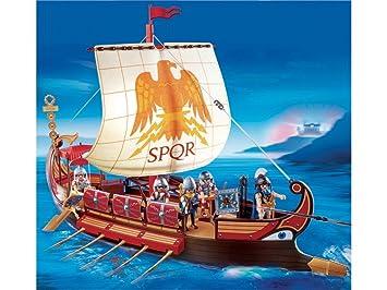 bateau romain playmobil
