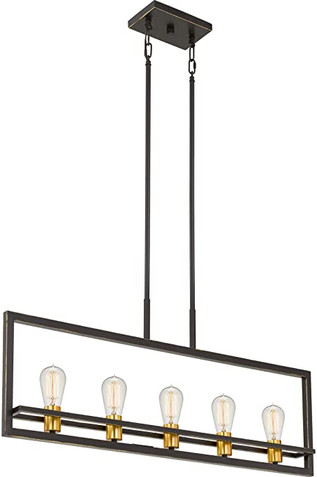 Amazon.com: Quoizel Lighting JC532PN Junction - Cinco luces ...