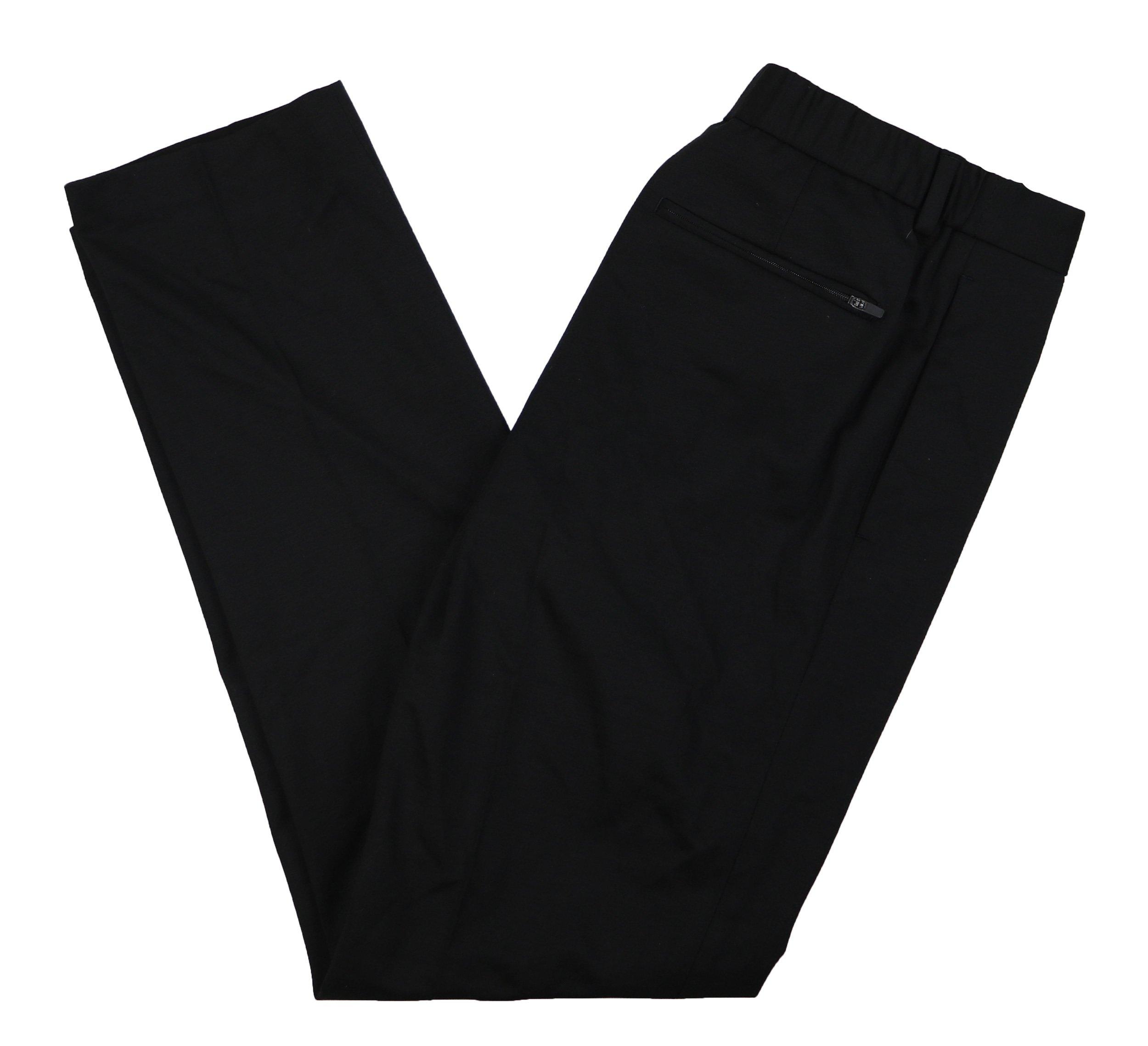 Alfani Travel Essentials Stretch Slim Fit Men's Pants (Deep Black, 32W x 32L)