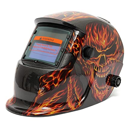 LEXPON Casco de Soldadura Automático DIN 9-13 Solar Energía Máscara de Fotosensible